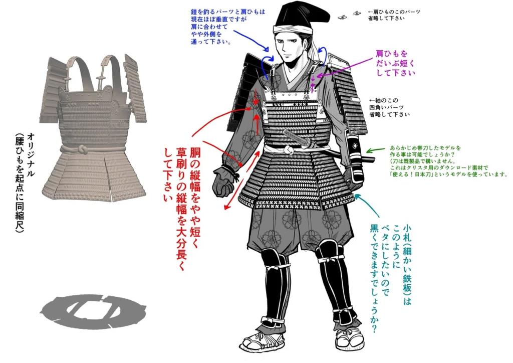 The Elusive Samurai 3D models