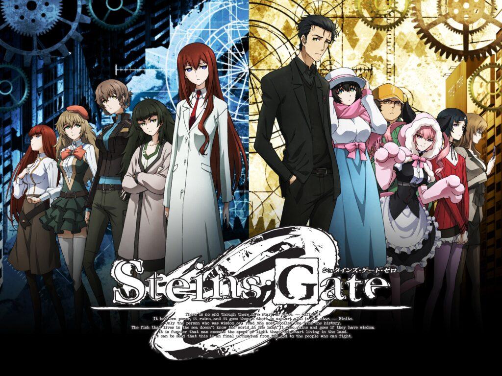 steins gate 0 anime visual