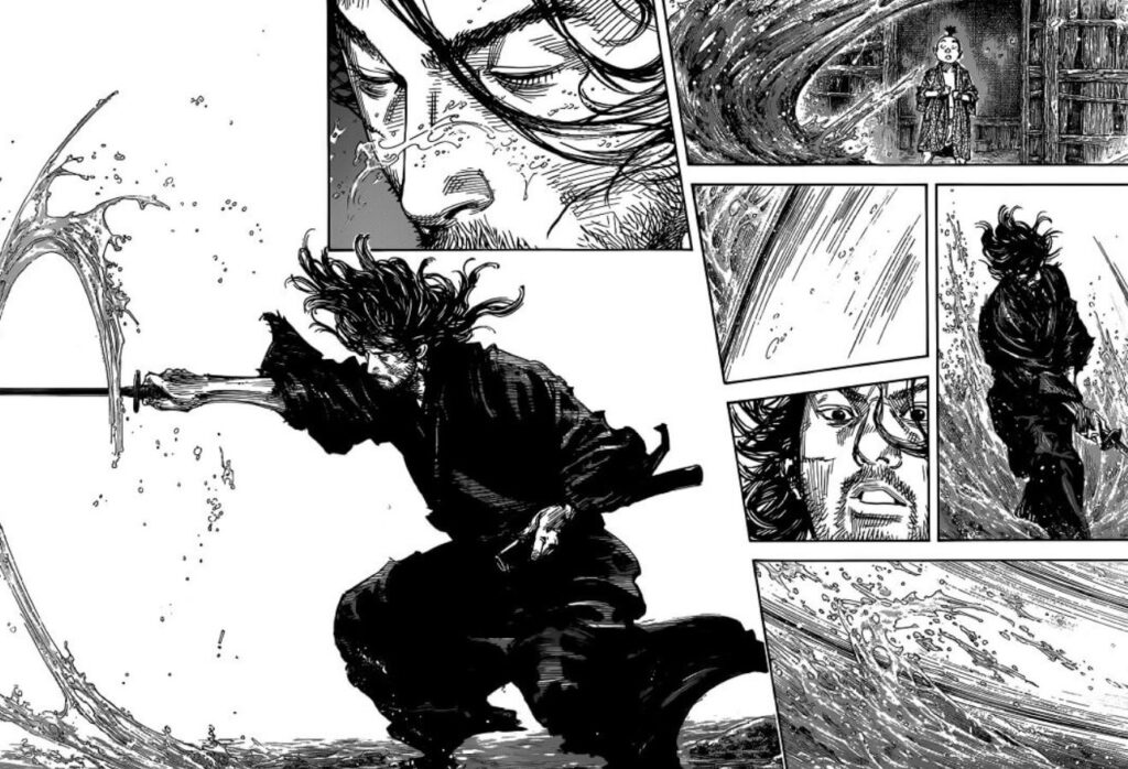 Vagabond Manga Page