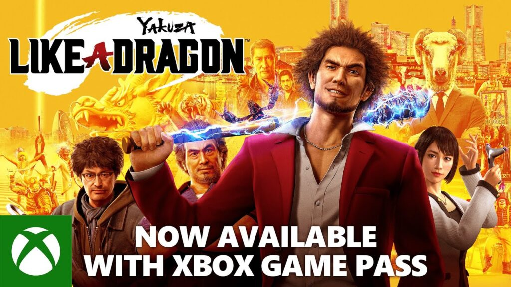 Yakuza: Like a Dragon Now Available on Xbox Game Pass, Completing the Saga