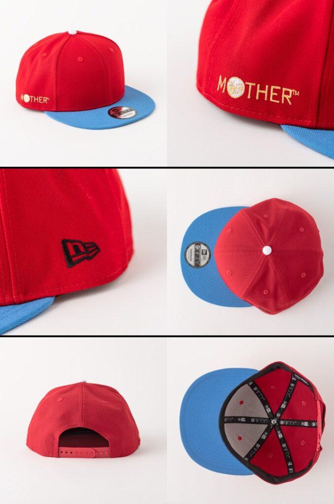 HOBONICHI MOTHER PROJECT x New Era - Red Baseball Cap