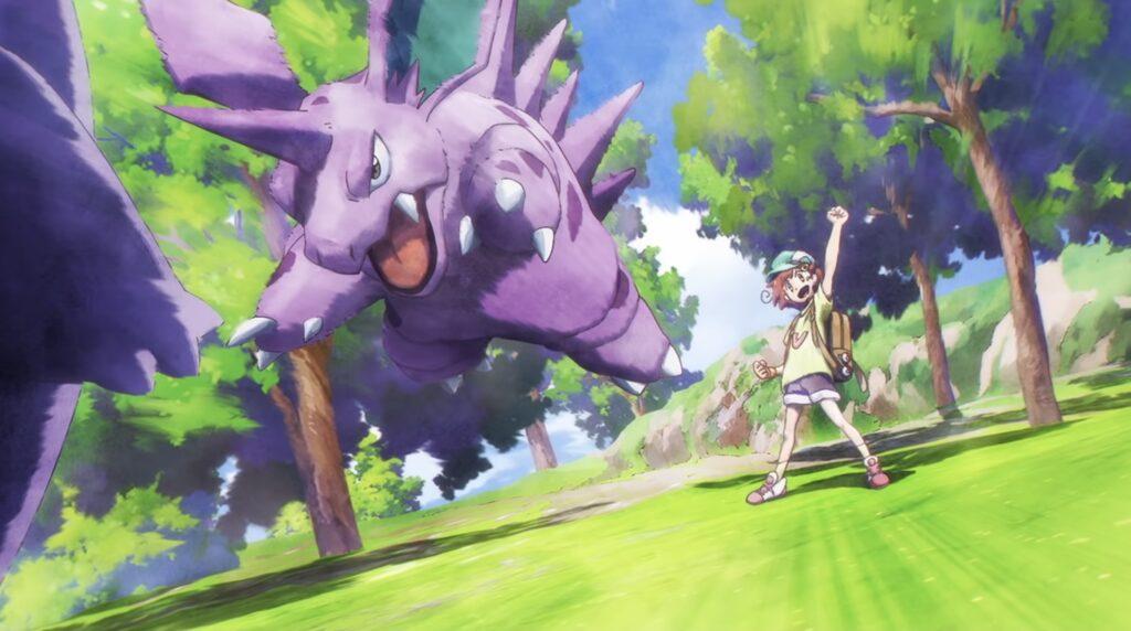 Dreaming Tsubomi Pokemon Short
