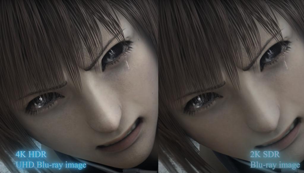 Final Fantasy VII Advent Children Complete Ultra HD Blu-ray