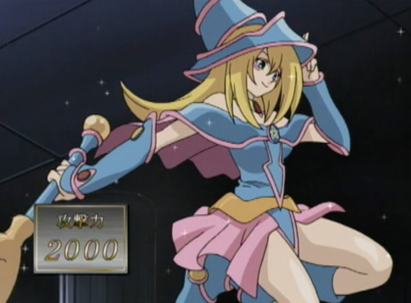 Yu Gi Oh! Dark Magician Girl, for the cosplay fans