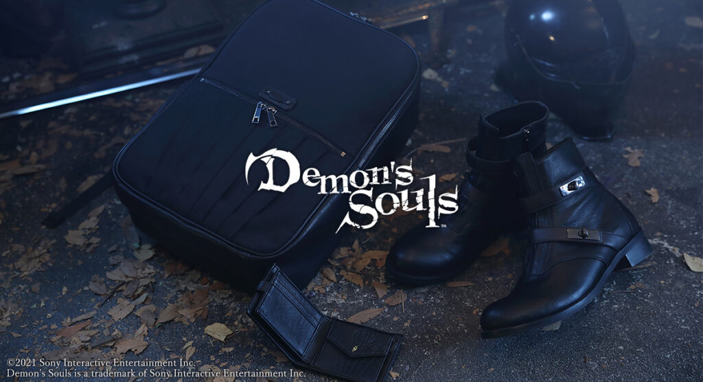 Demons Souls Collaboration Logo