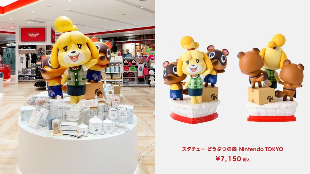 Isabelle at Nintendo TOKYO
