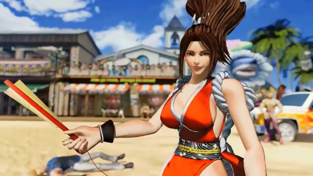 Mai from King of Fighters XV