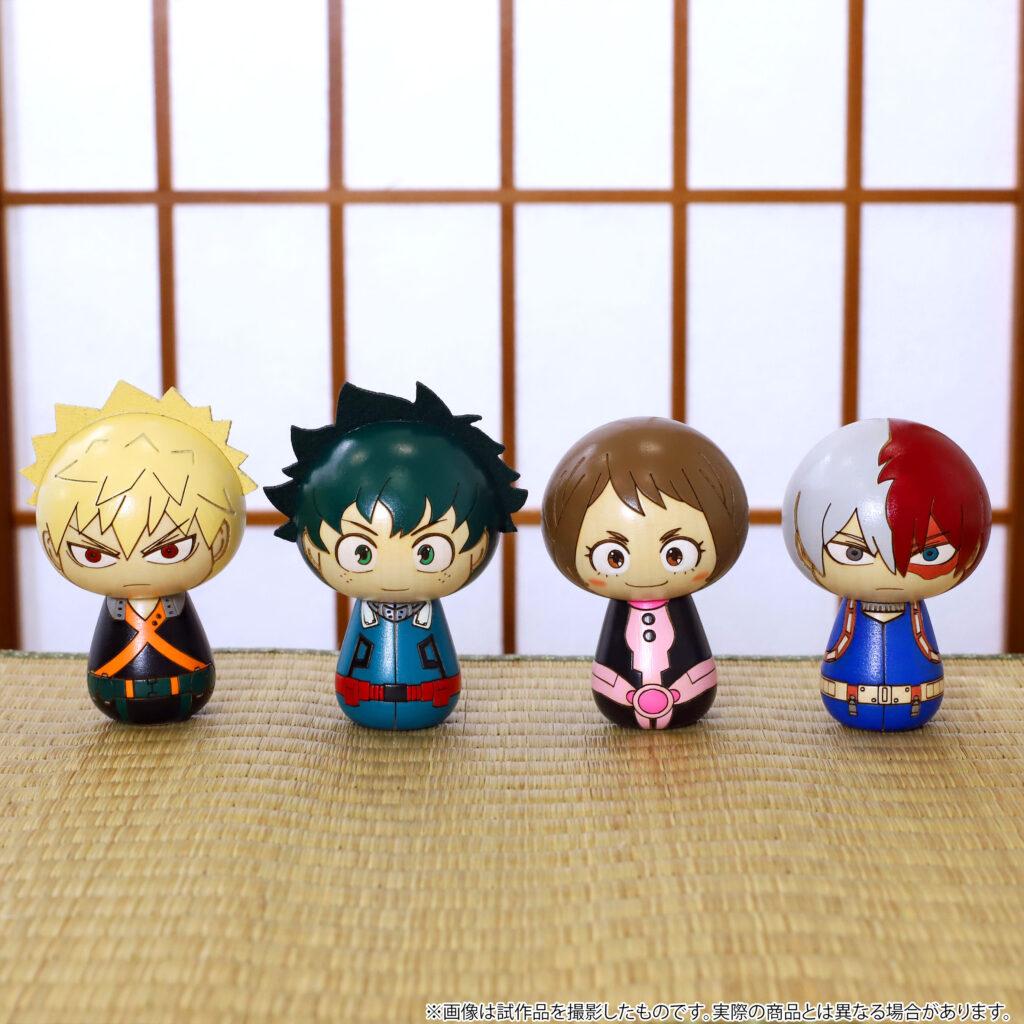 My Hero Academia Kokeshi Set