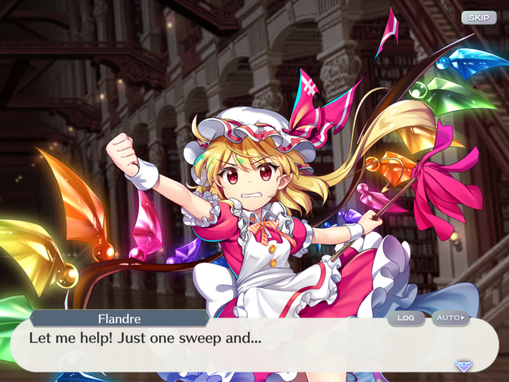 Flandre in Lost Word