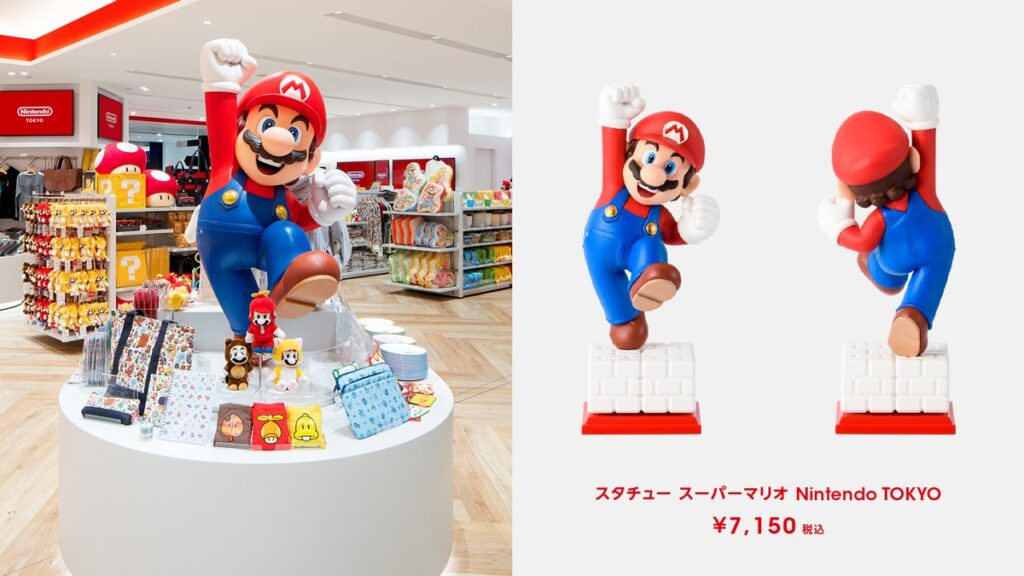 Mario at Nintendo TOKYO