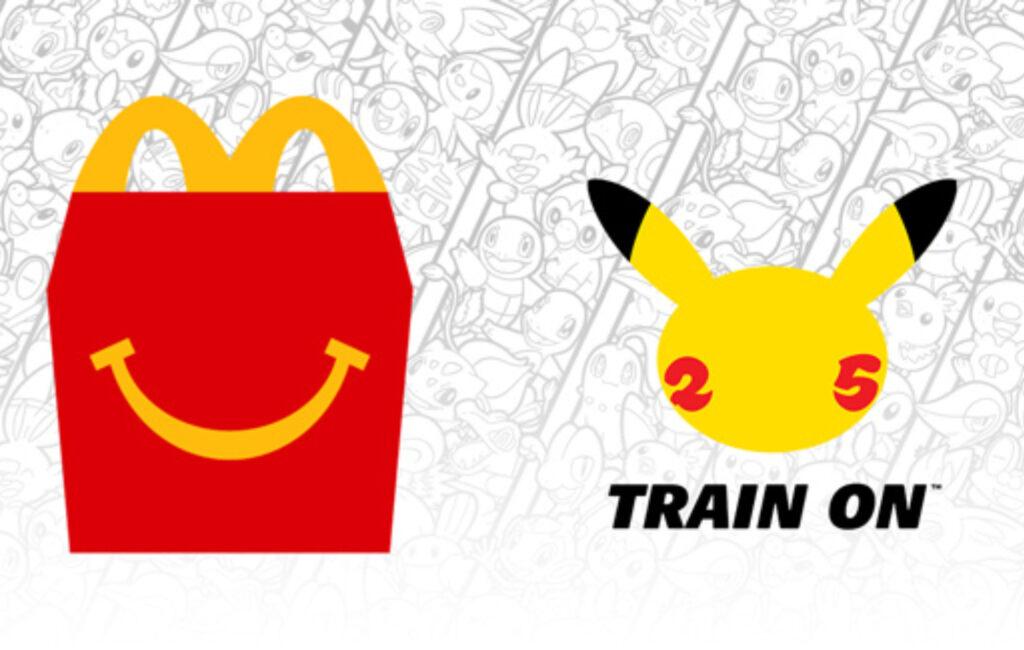 McDonalds Pikachu Happy Meal