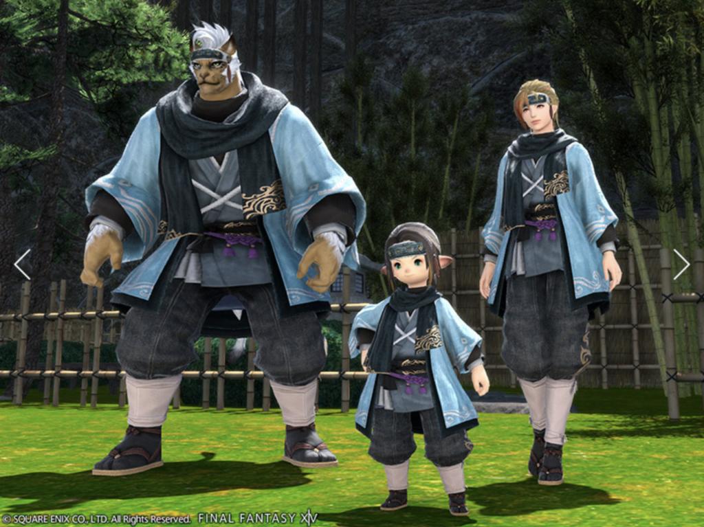 Resshi Attire in Final Fantasy XIV
