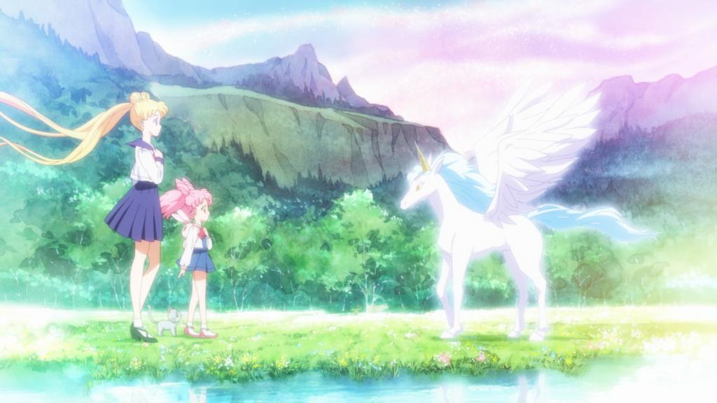 Scene from Sailor Moon Eternal