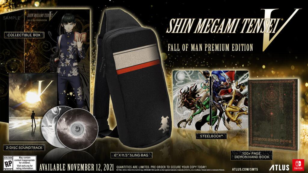 Shin Megami Tensei V Battle Fall of Man