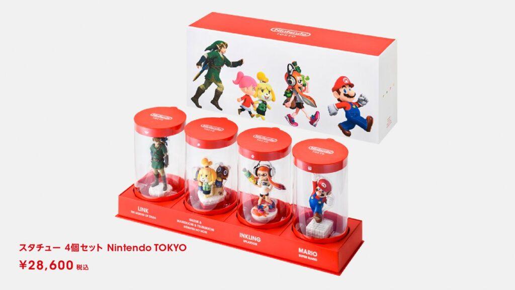 Set of Nintendo Miniature Figures