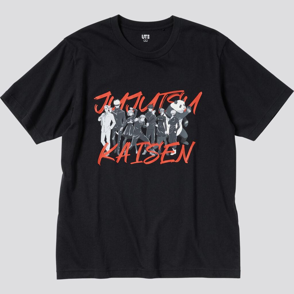 Jujutsu Kaisen UNIQLO Shirt 1