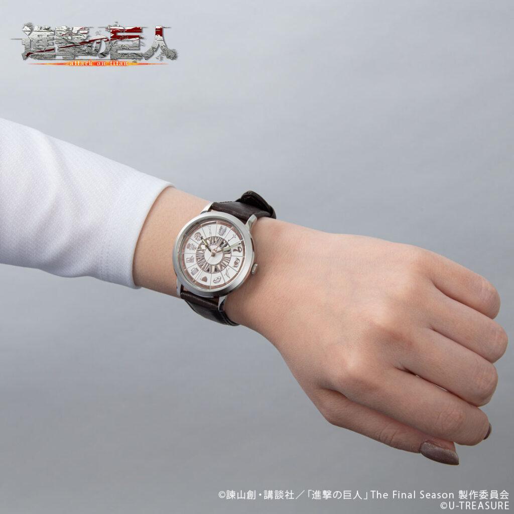 Attack on Titan Watch on Wrist