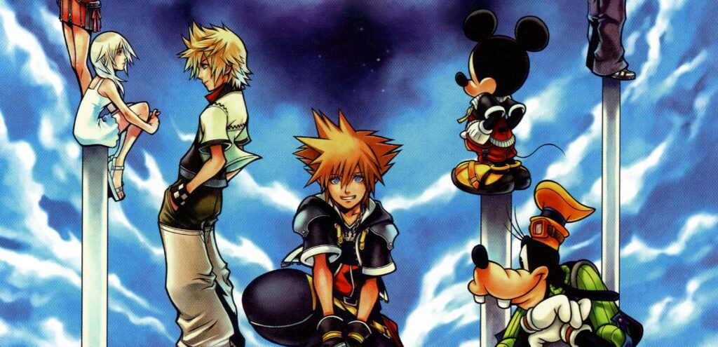Kingdom Hearts 2 Cover