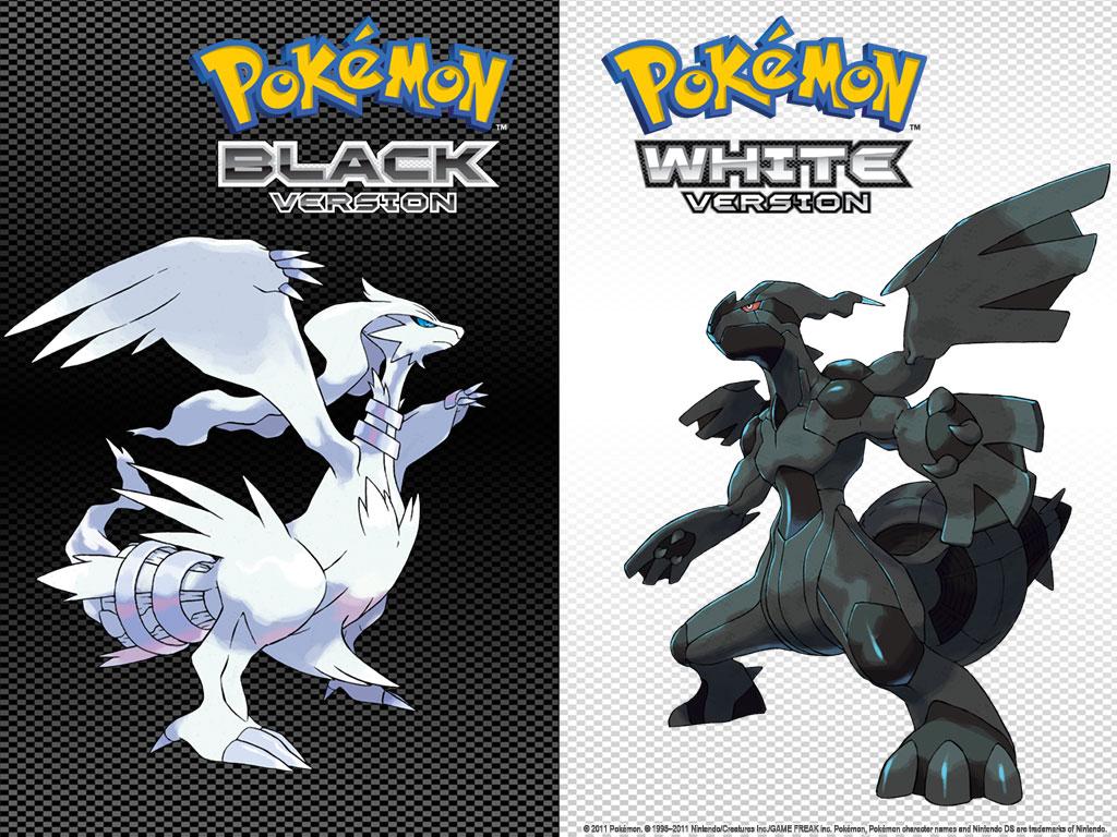 Pokémon Black and White Cover