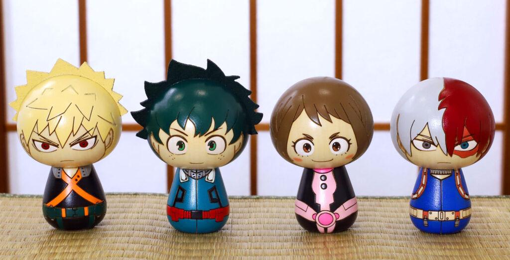 My Hero Academia Kokeshi Figures