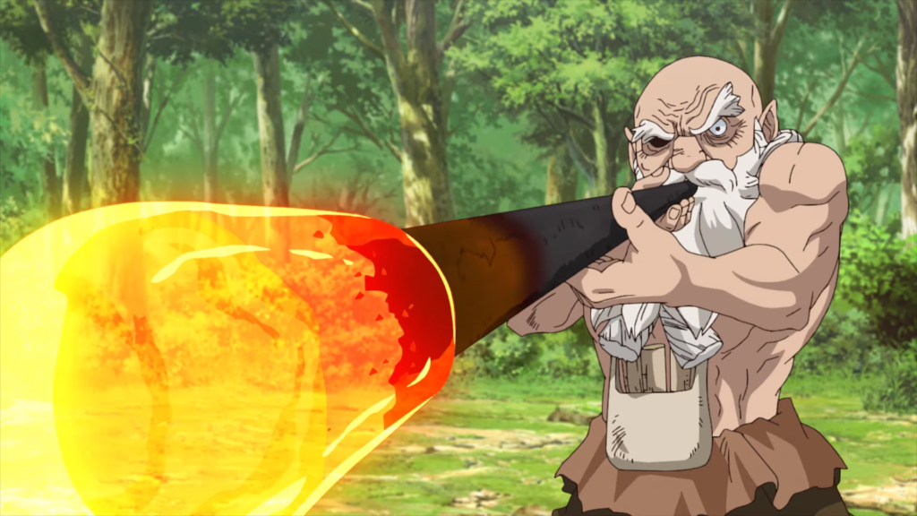 dr. stone kaseki old man