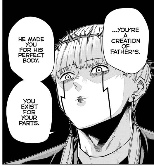 Screenshot from MASHLE Chapter 66