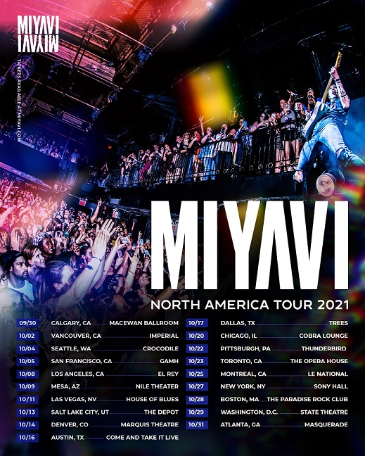 MIYAVI NA Tour