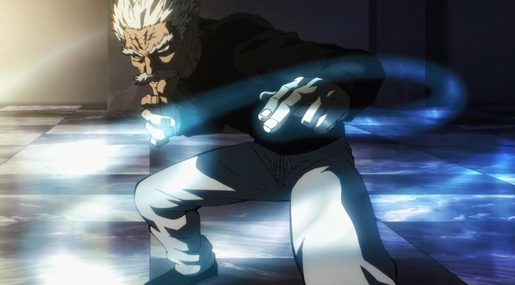 one punch man bang silver fang