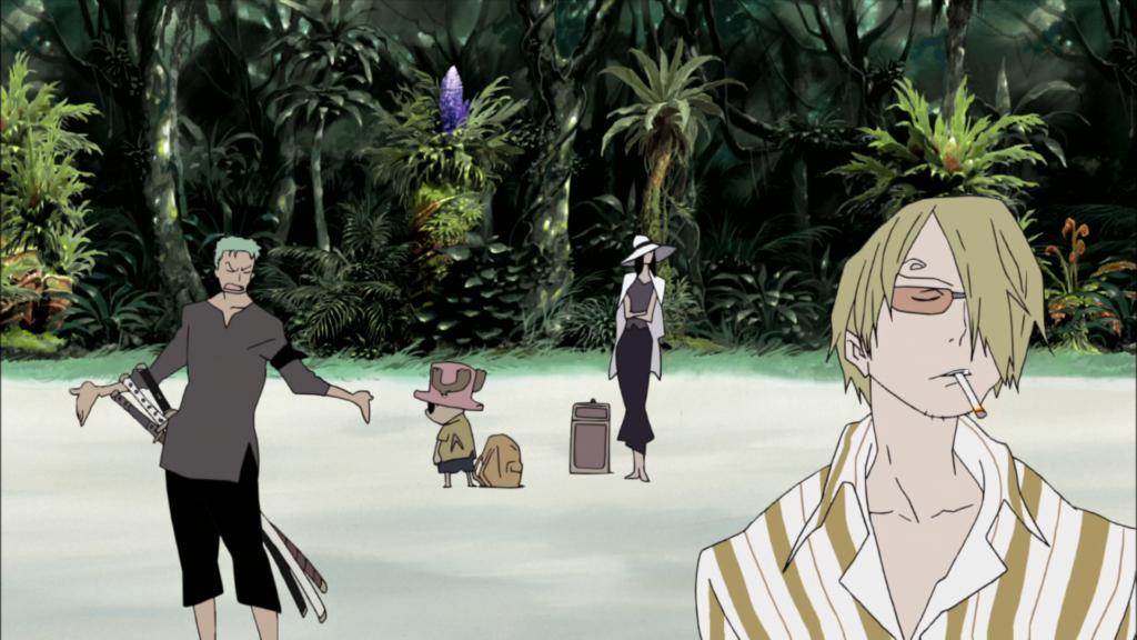 Screenshot from One Piece