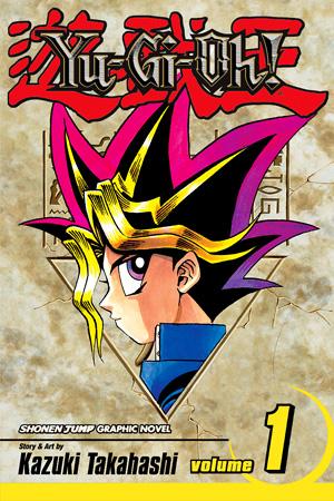 Yu-Gi-Oh manga tankobon 1, from Viz