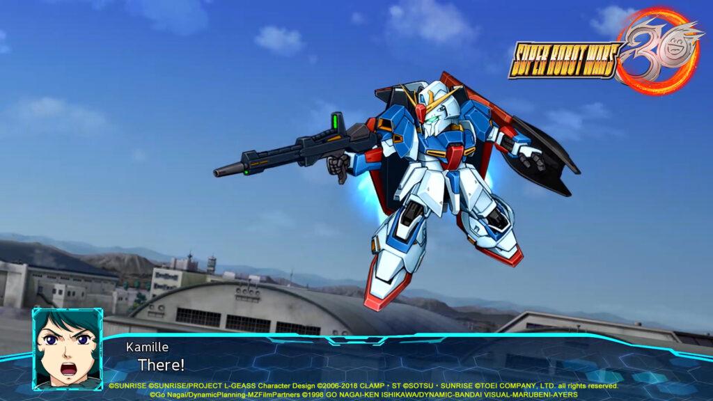 Ζ Gundam in Super Robot Wars 30