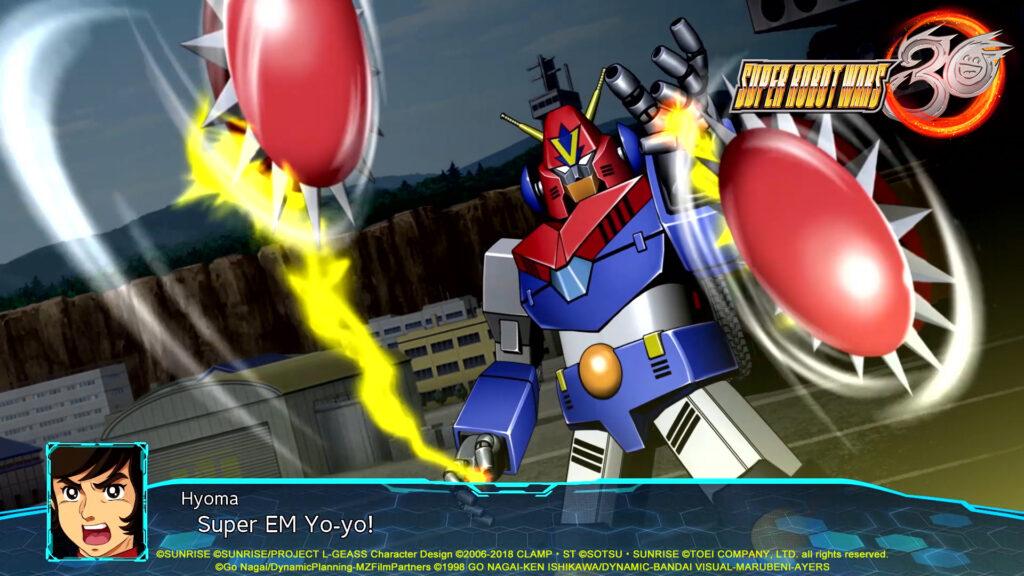 Combattler in Super Robot Wars 30