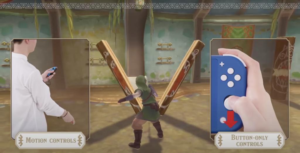 Skyward Sword Controls