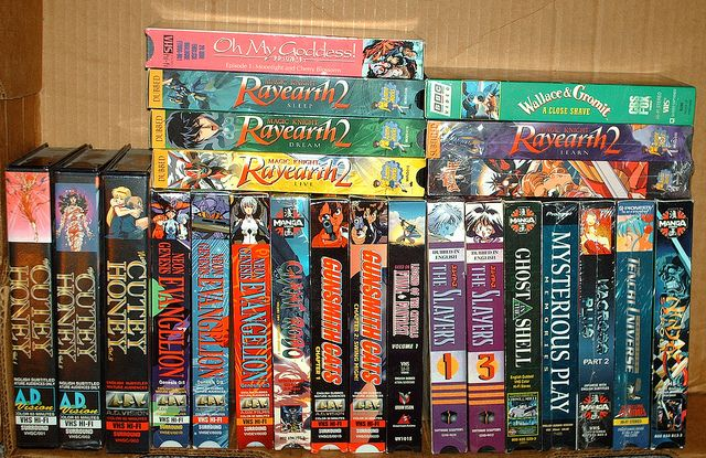 Anime VHS Tapes