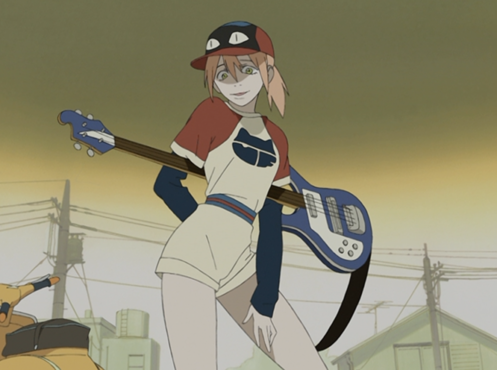 Haruko, FLCL: 7 Must-Watch Sports Episodes in a non-Sports Anime Series