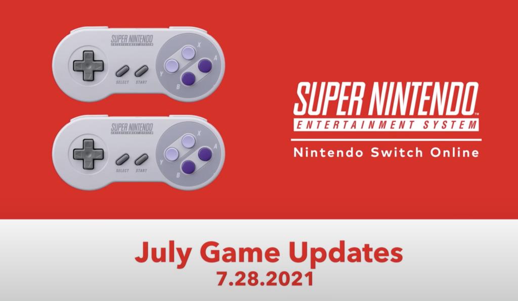 Switch Online July