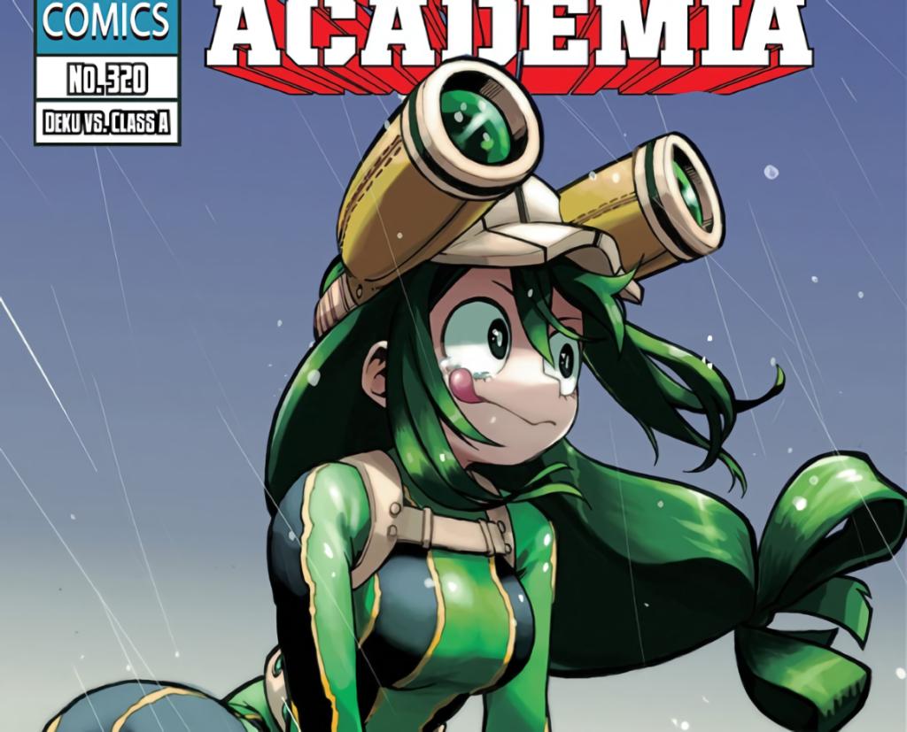 My Hero Academia Chapter 320