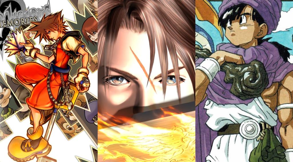 Square Enix RPG Cover