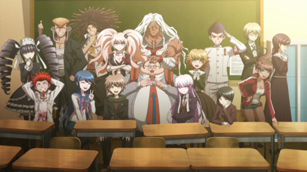 danganronpa the animation cast