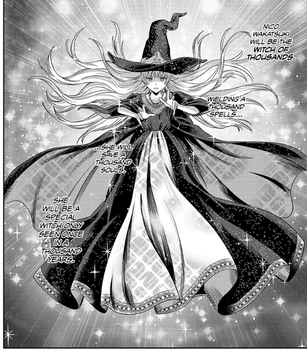 Screenshot from Witch Watch Chapter 22