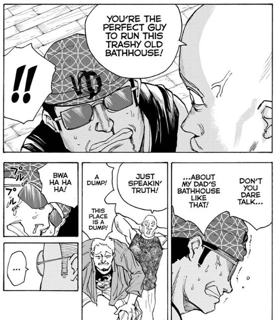 Screenshot from Sakamoto Days Chapter 32