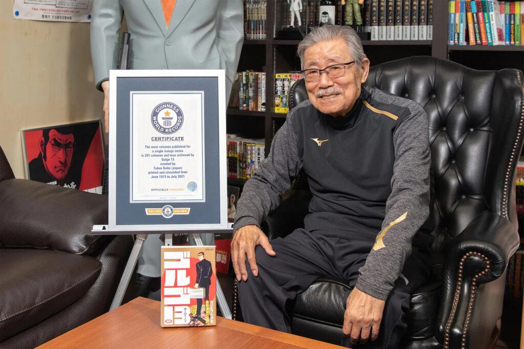 Golgo 13 recieves Guinness World Record